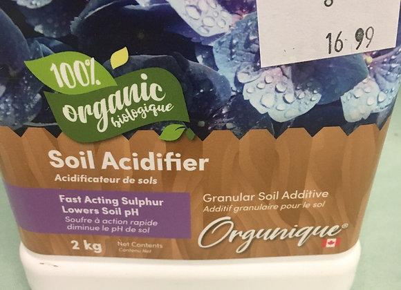 Orgunique Soil Acidifier