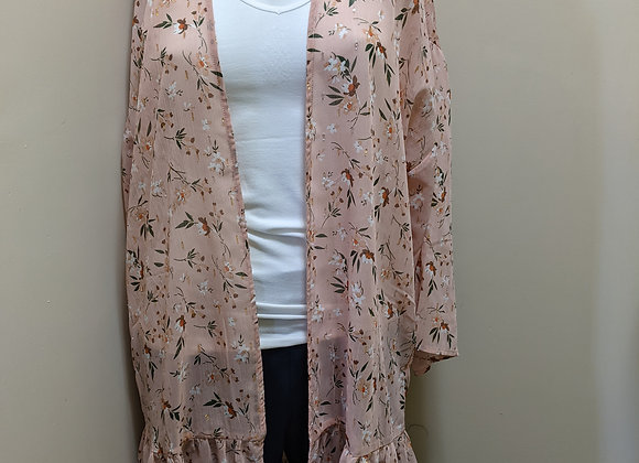 Charlie Paige Light Weight Flowy Cardigan