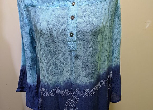 Papa 1/4 Button Tunic - Assorted Colors