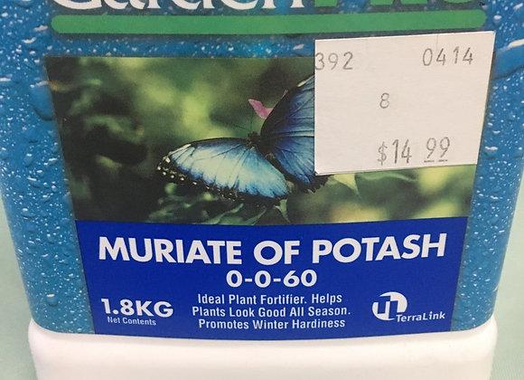 Garden Pro Muriate  of Potash 0-0-60