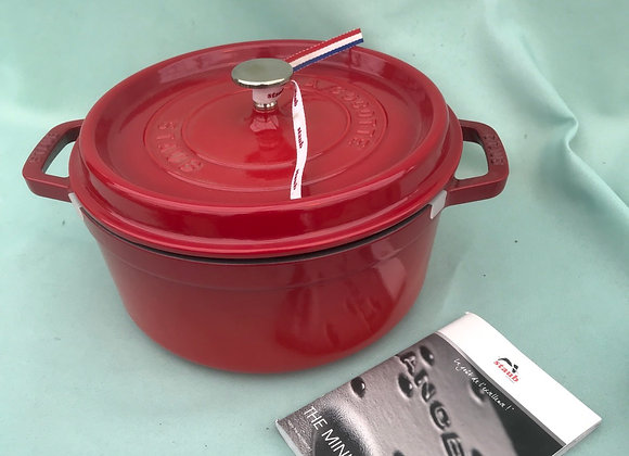 """Staub La Cocotte 24"""" Cast Iron Cookware"""
