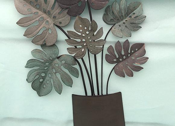 Metal Flower Wall Art