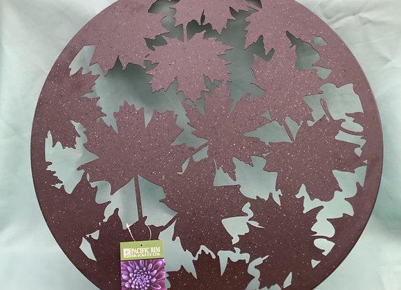 Metal Maple Leaf Art
