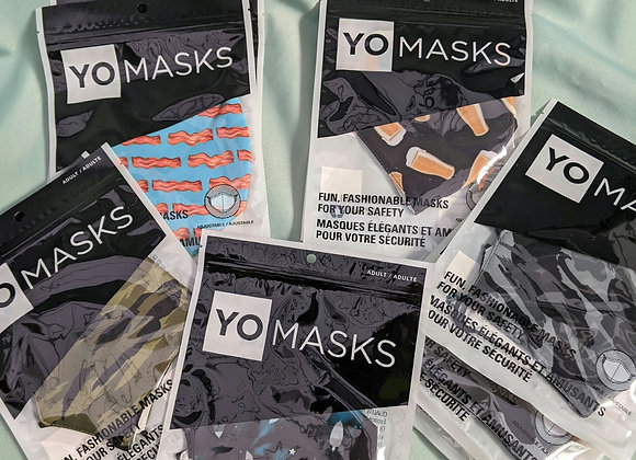 Adult Face Mask - Assorted