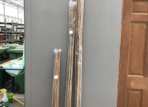 Bamboo Stakes - Pack of 15 Assorted Lengths