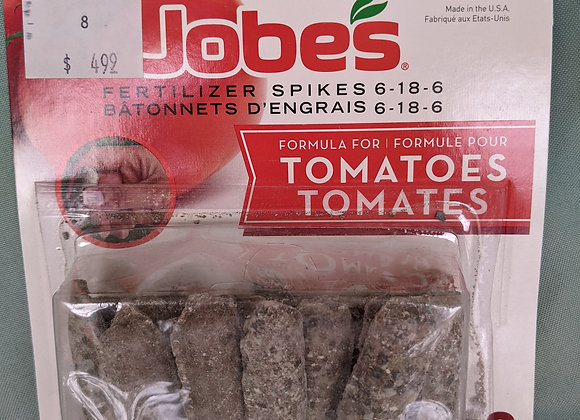 Jobes Tomato Fertilizer Spikes 6-18-6