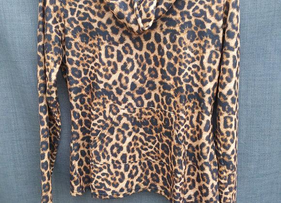 Charlie B Cheetah Print Top