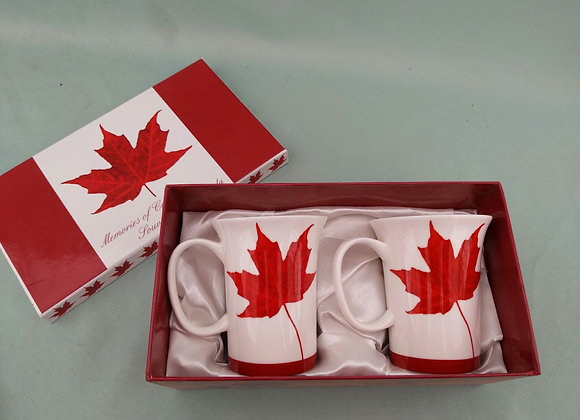 Canada Coffee Cup Set