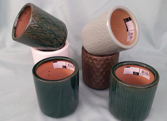 """4.5"""" Mica Indoor/Outdoor Pot"""