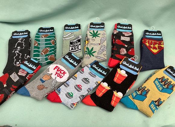 Good Luck Socks Assorted - Size 13-17