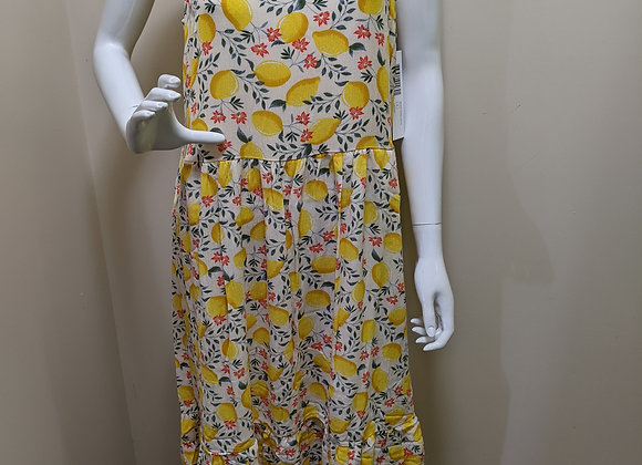 Tribal Lemon Dress