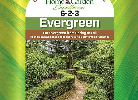 HGE 6-2-3 Evergreen Fertilizer 1.5 kg