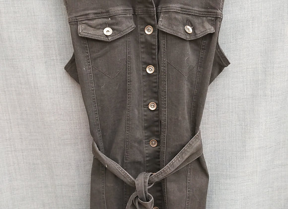 Tribal Jeans - tie vest