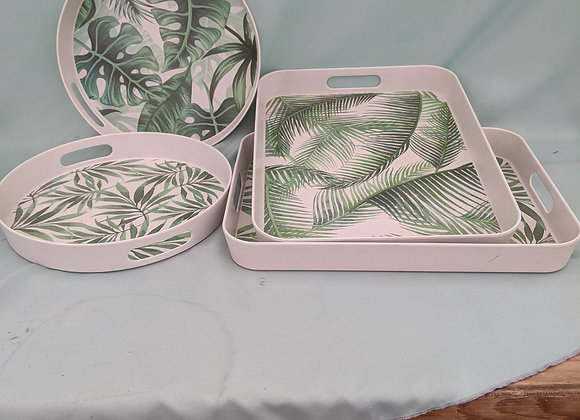 Assorted Tropical Serving Trays