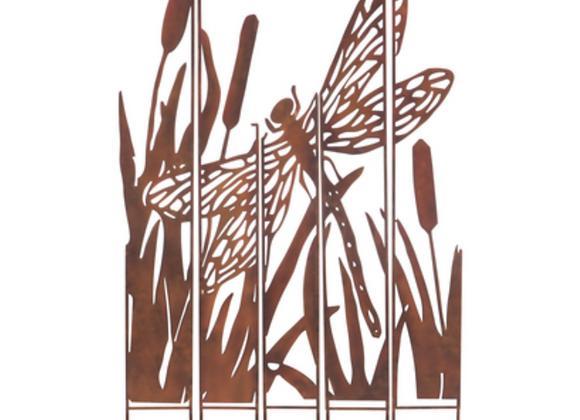 Dragonfly Lazer Cut Yard Sign
