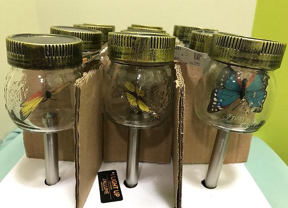 Mason Jar Butterfly Solar Light