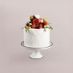 Flower Decorated Cake
