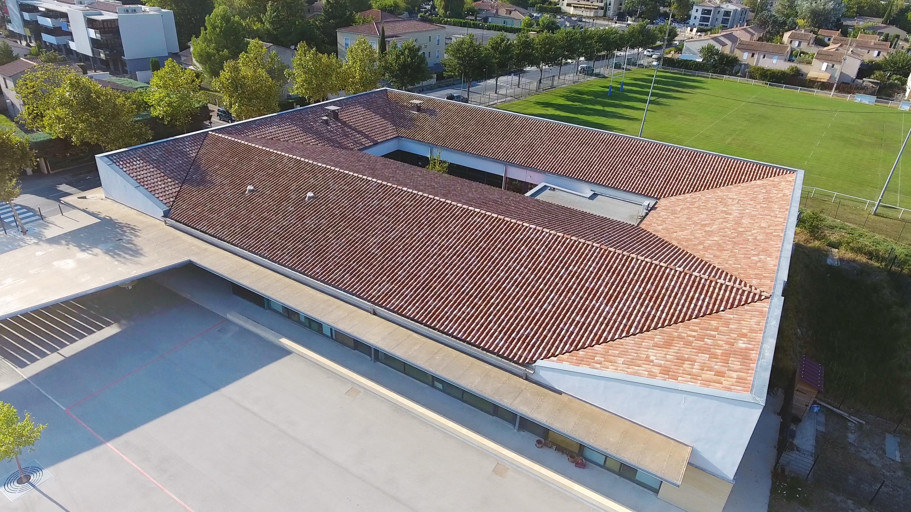 architecture drone vaucluse