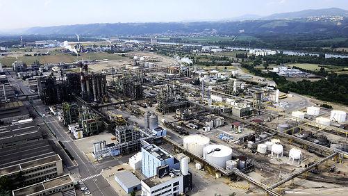 industrie, chimique, osiris, aerovision84, drone, vaucluse