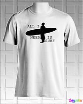 All I need is Surf tshirts online