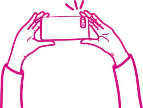 Como tirar a melhor selfie-loja online Infynita seja diferente seja unico