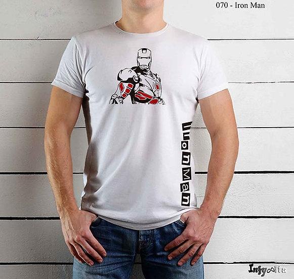 Tshirts personalizadas com os heróis favoritos, Iron Man / Homem de ferro