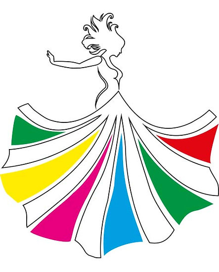 Liberdade de cor, de expressão, de viver, personalize a sua vida e sua roupa