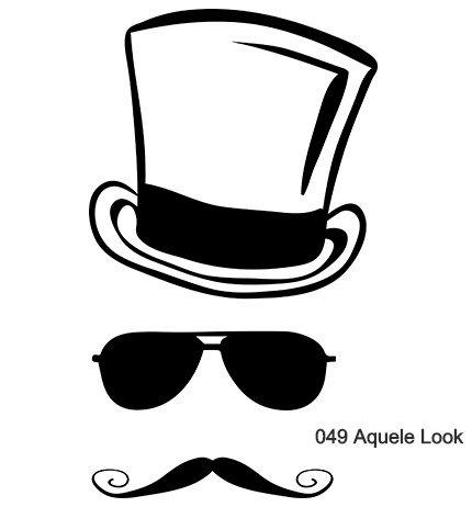 cartola e bigode homem com aquele look estilo diferente com marcas nacionais Infynita