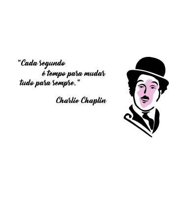 Charlie Chaplin famoso Charlot-frases inspiradoras deste ator