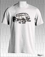 O homem e o surf, personalizar t-shirts como deseja