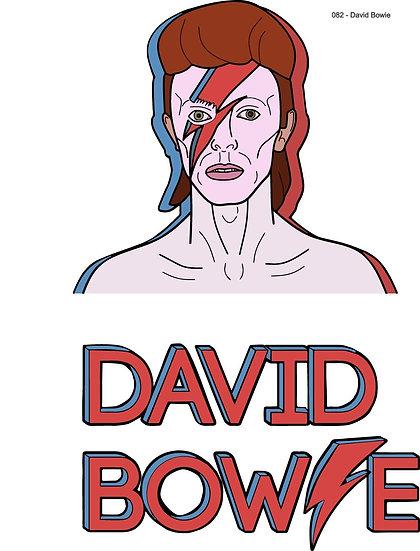 Camaleão do Rock, David Bowie seu estilo musical único - loja online portuguesa Infynita