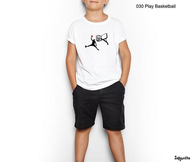 Basketball, desporto saudável moda infantil personalizada com Infynita