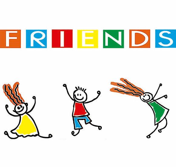 amizades para a vida, amigos inseparáveis. Personalize a sua roupa com Infynita