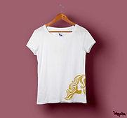 Mulheres com poderes, personalizar t-shirts como desejam