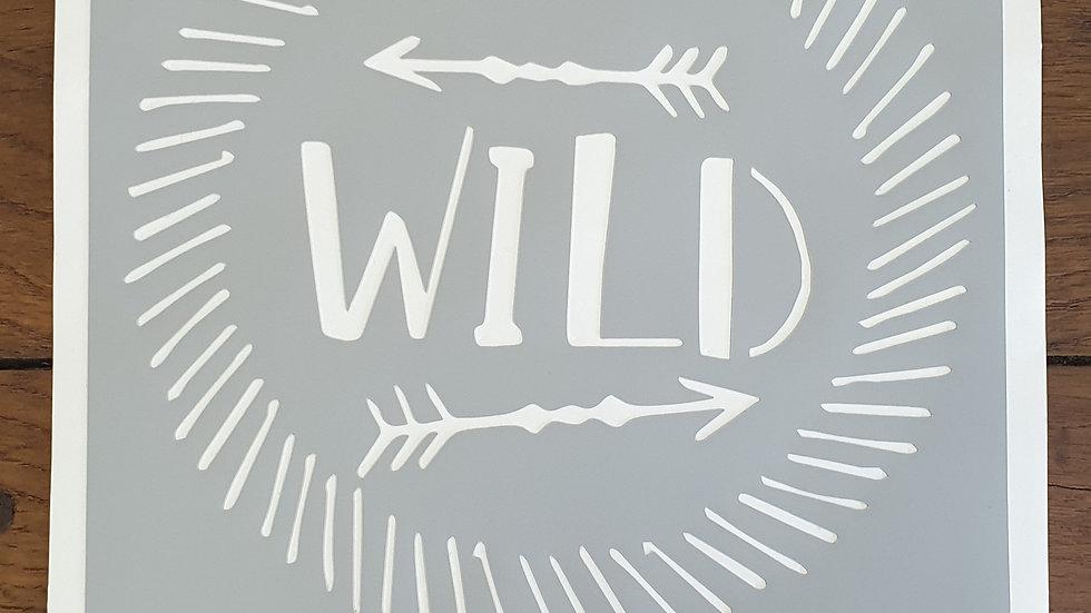 """Pochoir """"Wild"""""""