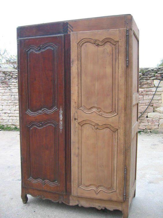 Décapage d'une armoire
