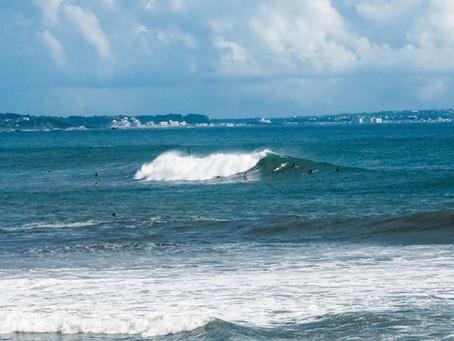 久々の大波