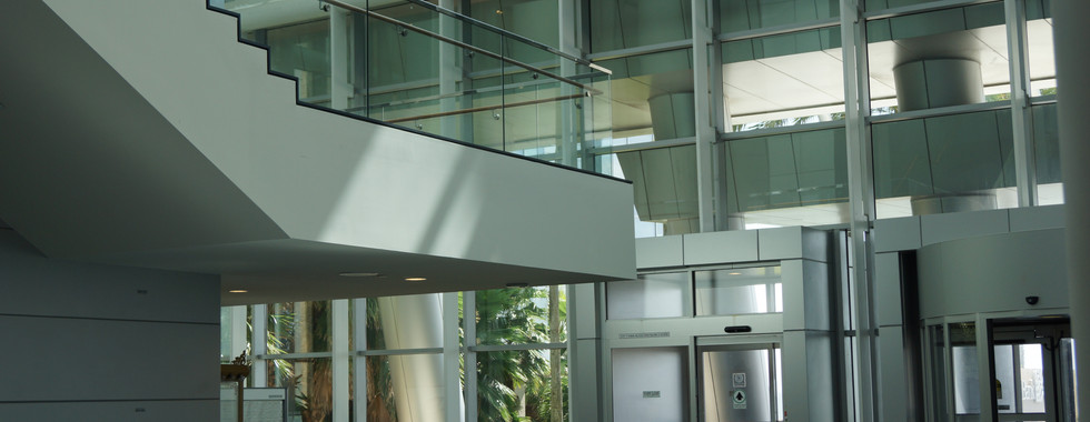 The renovated convention center was to include a Grand Foyer Lobby with a magnificent view of the bay, two ball-rooms one 25,000sqft. and a second 20,000sqft. The ICE Staff then under Maverick Engineering at the time was  awarded the Structural and Civil design of the 80,000sq.ft. addition and modification to the existing Corpus Christi Bayfront Plaza and Convention Center facility. The structural system consisted of numerous complex conditions including 74ft tall new entrance structure with full height glazing system. The structural system including glazing was designed to sustain 125MPH wind loading. The project was completed in 2004.
