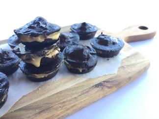 Creamy Salted Caramel Bites (V, GF)