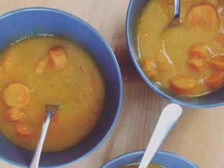 Homemade Carrot Soup (V, GF)