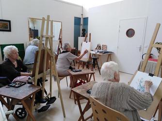 Nogent-sur-Marne – la maison nationale des artistes accompagne les artistes dans le grand âge