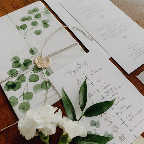HERZDRUCK Weddingpapeterie