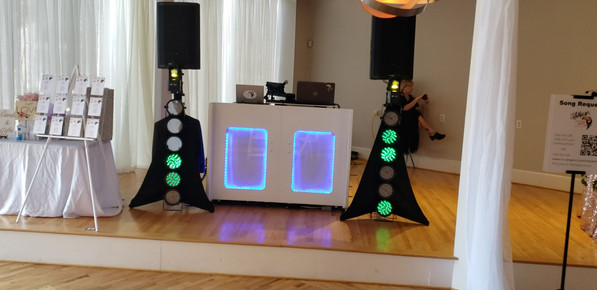 Dance floor lighting