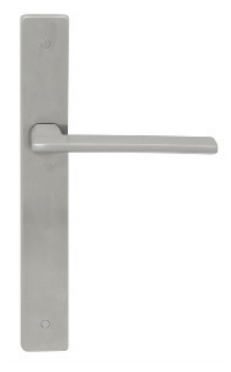 Austyle - 316 Stainless Door Lever - Flat Thin Face Long Plate - All Variants