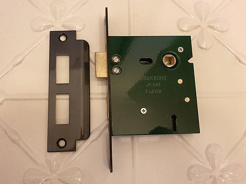 Jacksons JM560 - High Security 5 Lever Lock B60mm