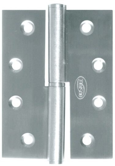 Austyle - Hinges - Lift Off Satin 304 Grade Stainless - H89/100xW60/75mm (Pair)