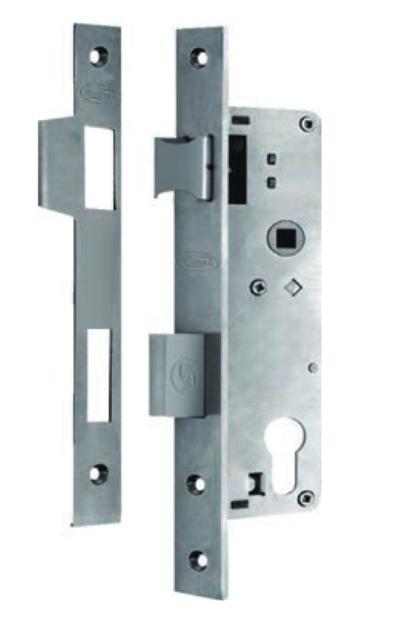 Austyle - Commercial Narrow External Lock - Euro B30mm