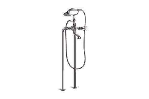 Brodware - Neu England - Bath Mixer with Hand Shower Floor Mount 1.8022.00.1.01
