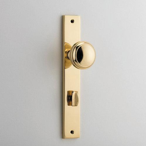 iver - Paddington Door Knob - Rectangular - Privacy