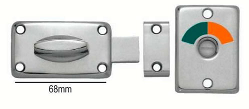 Austyle - Bathroom Privacy Lock - Contemporary Indicator Kit